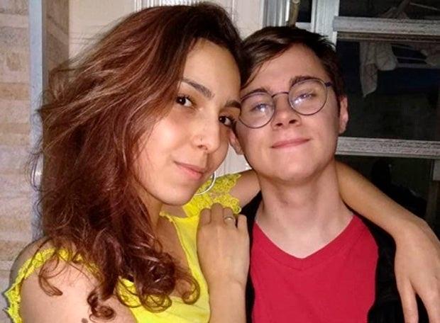 'Rafael tentou proteger a mãe', diz namorada de ator assassinado