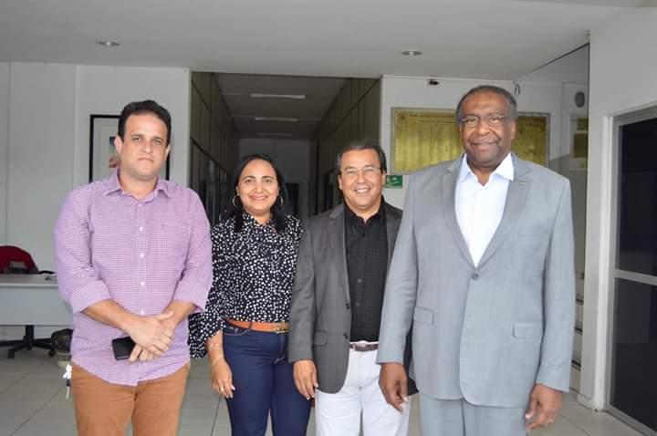 APPM e AMPAR recebe presidente do FNDE e cobra investimentos nos municípios