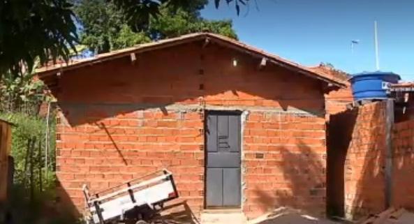 Residência onde a criança foi encontrada - Foto: reprodução
