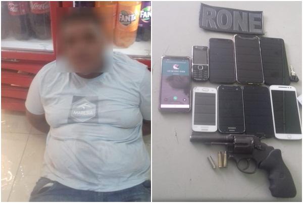 Bandido é preso após realizar assalto à panificadora