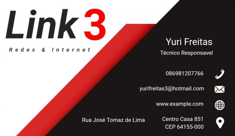 Se você quer uma internet rápida e segura venha para a link 3