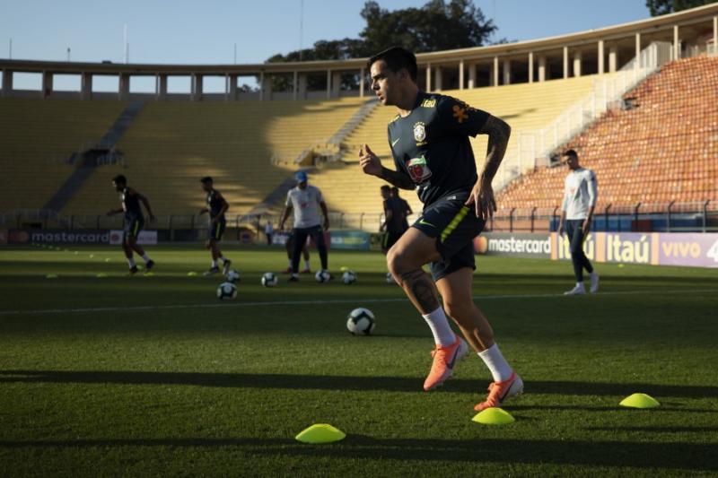 Seleção Brasileira fez treinamento de recuperação nessa segunda