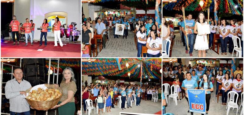 Banda Shalom faz show católico no festejo de Santo Antonio