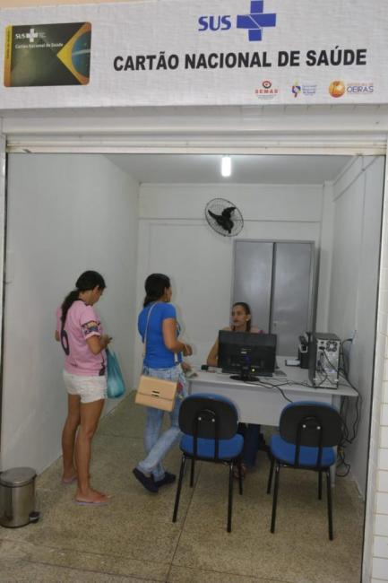 População oeirense pode emitir Cartão do SUS no Espaço do Cidadão