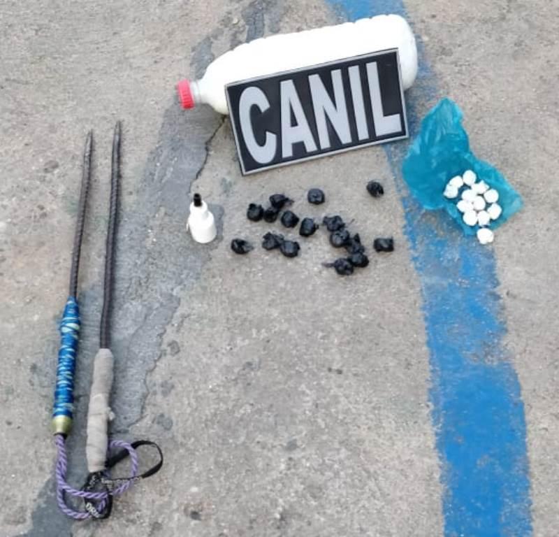 Vistoria em penitenciária de Picos resulta em apreensão de armas e drogas