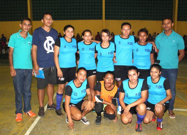 Seleção de Campo Largo goleia Morro do Chapéu em Futsal Feminino de Porto