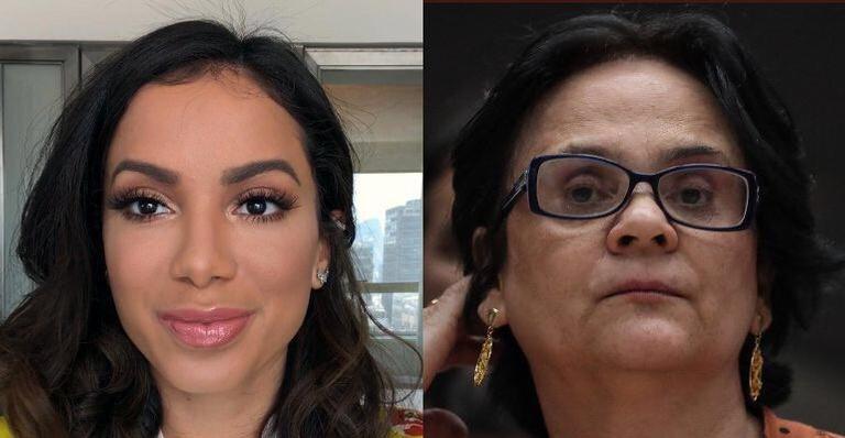 Anitta ironiza fala da ministra Damares sobre princesa Elza