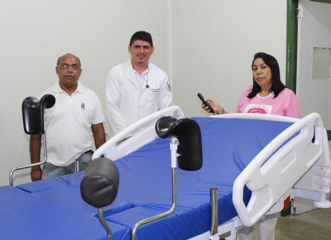 Prefeitura de Porto realiza reforma da sala de parto de Hospital