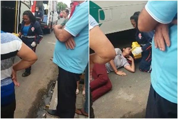 Motociclista atropela estudante em Teresina e foge sem prestar socorro