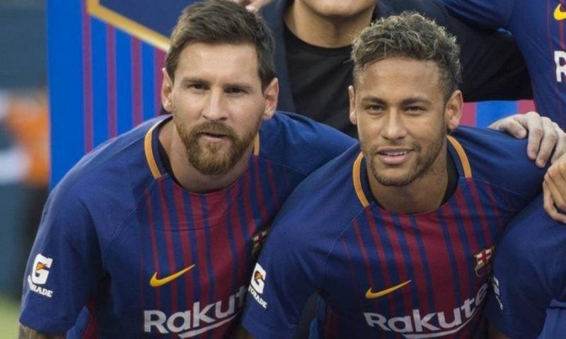 Messi lidera e Neymar pula para 3º em lista dos mais bem pagos