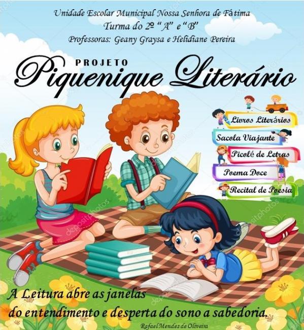Professoras do ensino fundamental desenvolvem projeto Literário em escola