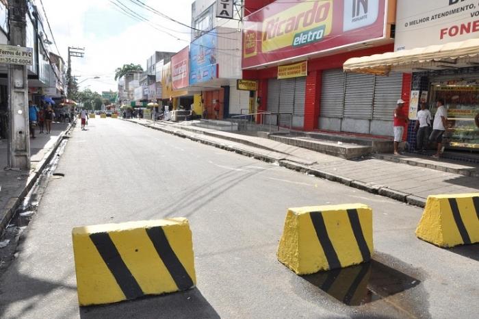 Strans vai interditar Rua Rui Barbosa para ajustes em caneletas