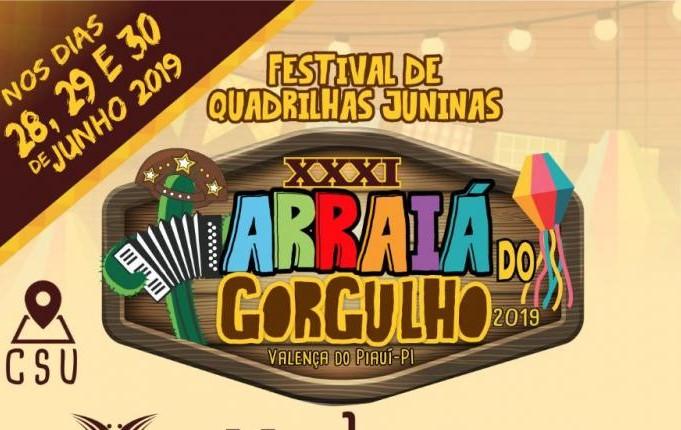 31° Festival Cultural de Quadrilhas Juninas em Valença