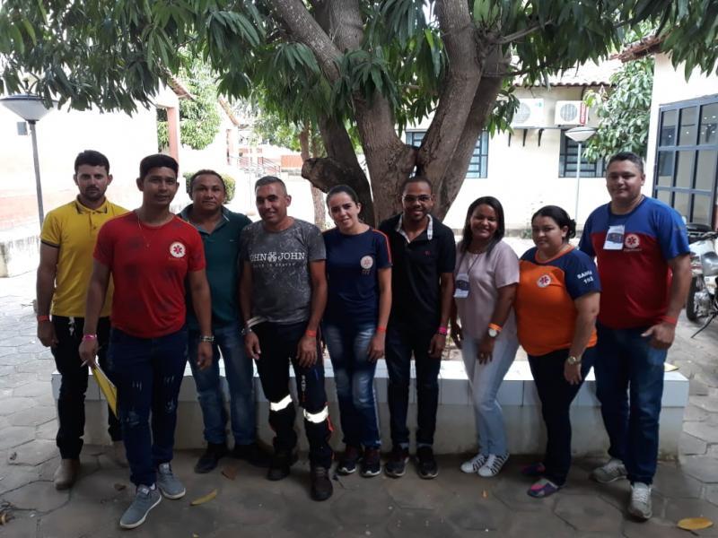 Equipe do SAMU de Cristino Castro participam do curso de reciclagem
