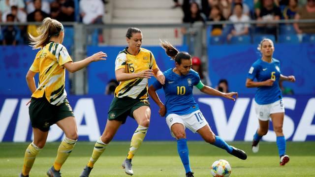 Austrália derrota seleção brasileira na Copa Feminina