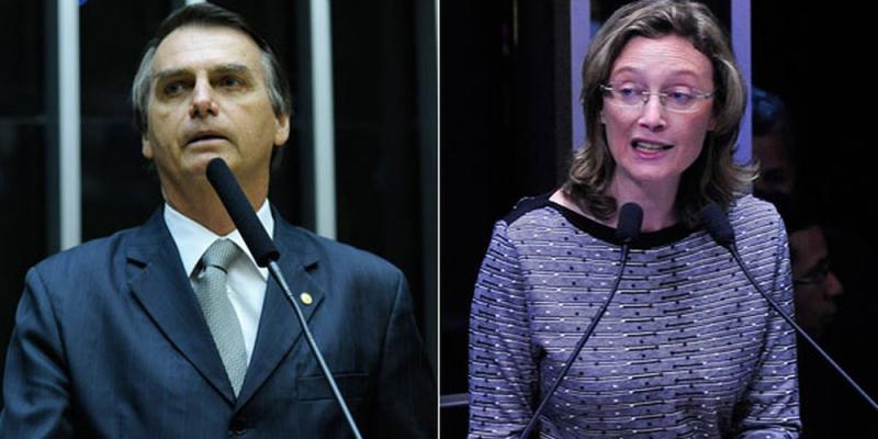 Cumprindo decisão judicial, Bolsonaro pede desculpas a Maria do Rosário