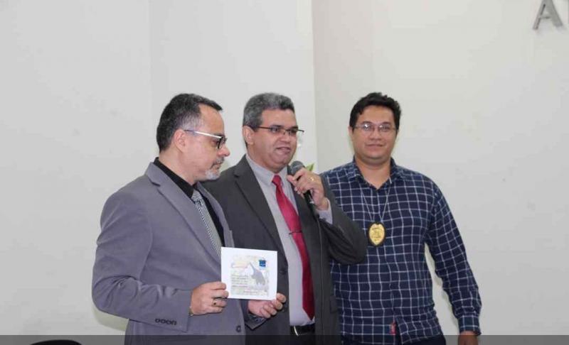 Delegacia de Altos recebe homenagem do IBAMA