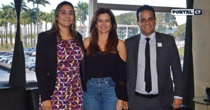 Deputada Iracema Portella recebe gestores de Amarante em Brasília