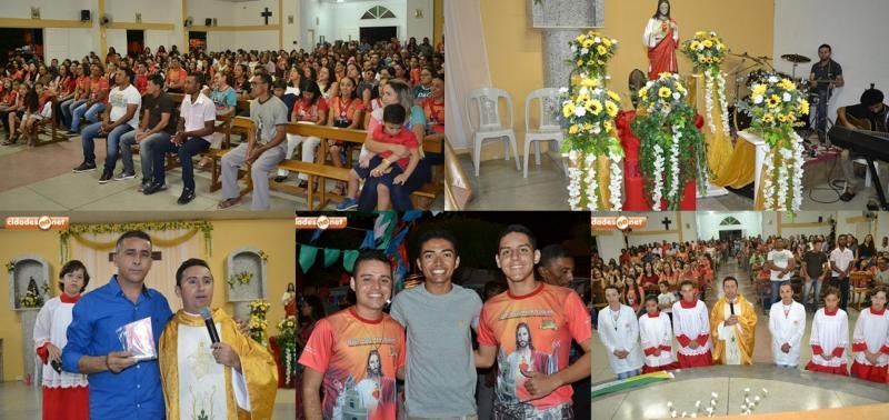 Festejos do Sagrado Coração de Jesus em Caridade do PI
