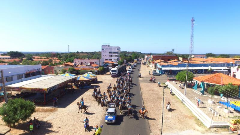 Dia de Festa com Sétima Cavalgada da Amizade em Barro Duro