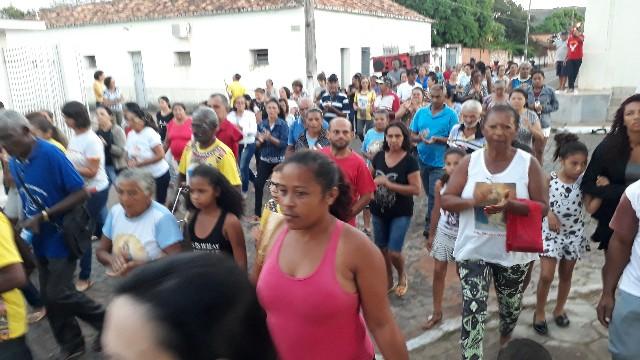 Começou o tradicional festejo de São João Batista em São João dos Patos-Ma