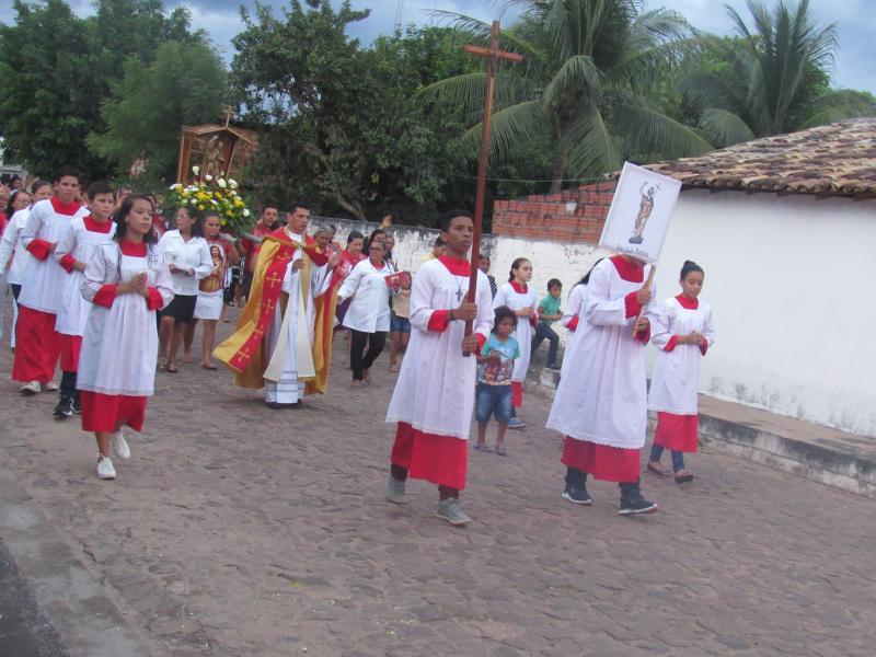 Teve início o festejo do Padroeiro São João Batista em São João do Arraial