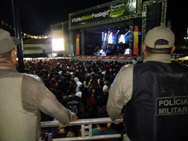 Polícia Militar comemora sucesso na segunça no Festejo de Sto.Antônio 2019