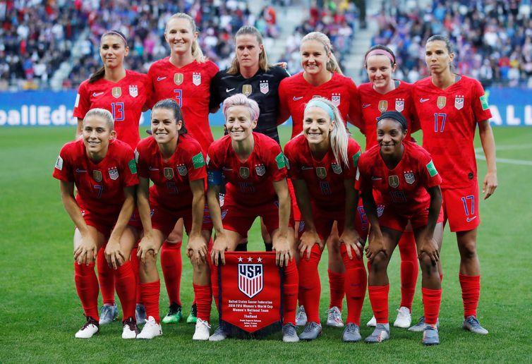 Estados Unidos e Chile fecham a segunda rodada da Copa feminina