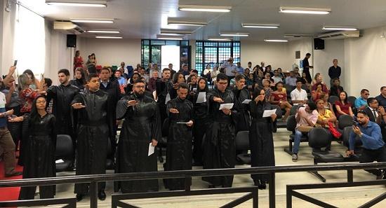 Subseção da OAB de Timon realiza primeiro compromisso de novos advogados