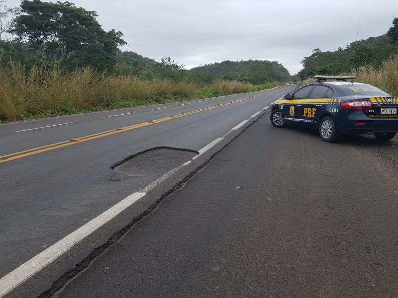 PRF alerta motoristas que vão pegar a estrada durante o feriado