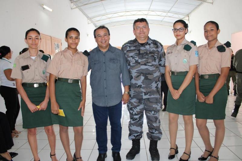 Batalhão de Água Branca realiza solenidade referente aos 184 anos da PM