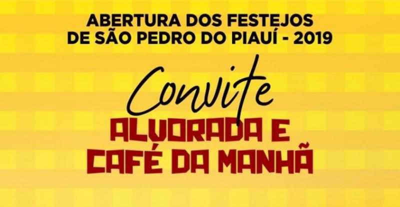 Abertura das festividades juninas acontecerá nesta quarta em São Pedro