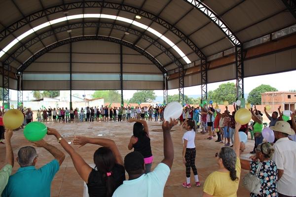 Saúde de Colônia do Gurgueia lança o Projeto Jogo de Cintura Col