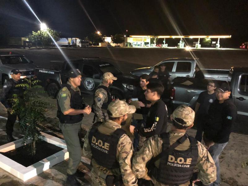 Polícia realiza operação na cidade de Pedro II