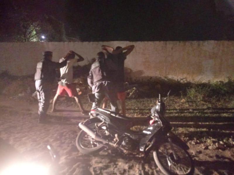 11º BPM-MA/Timon prende dupla e recupera mais uma moto roubada