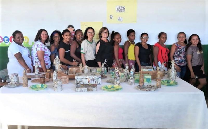 Prefeitura investe em capacitação de mãe de obra em Regeneração