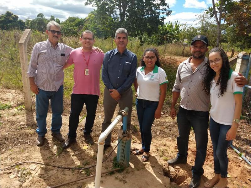 """Projeto """"Água Corrente"""" conta com sistema de automatização de poços"""