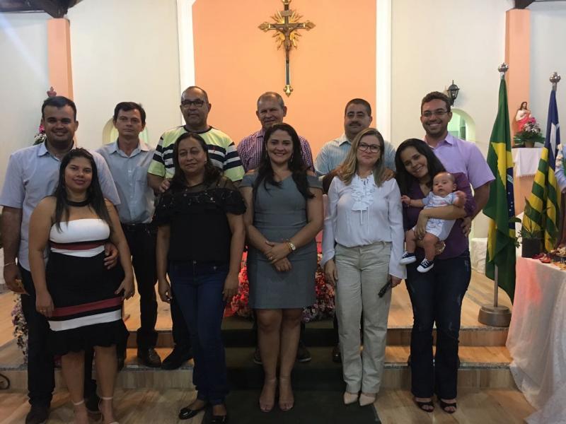 Autoridades municipais participam da Santa Missa em ação de graças pelo 23º aniversário de Lagoa