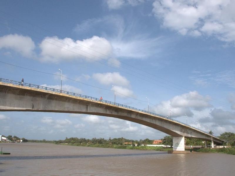 Ponte Simplício Dias em Parnaíba — Foto ilustrativa