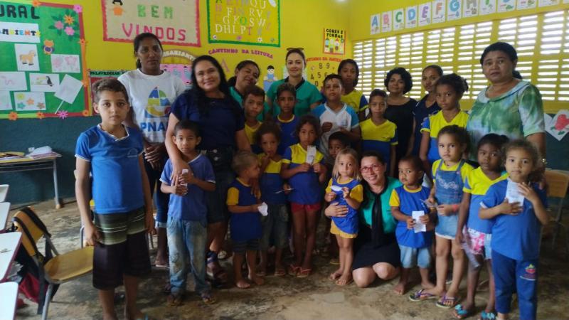 Olho D'água realiza campanha contra trabalho infantil