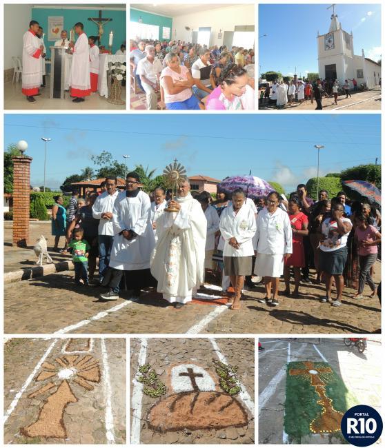 Missa e Caminhada Penitencial marcam dia de Corpus Christi  em Campo Largo