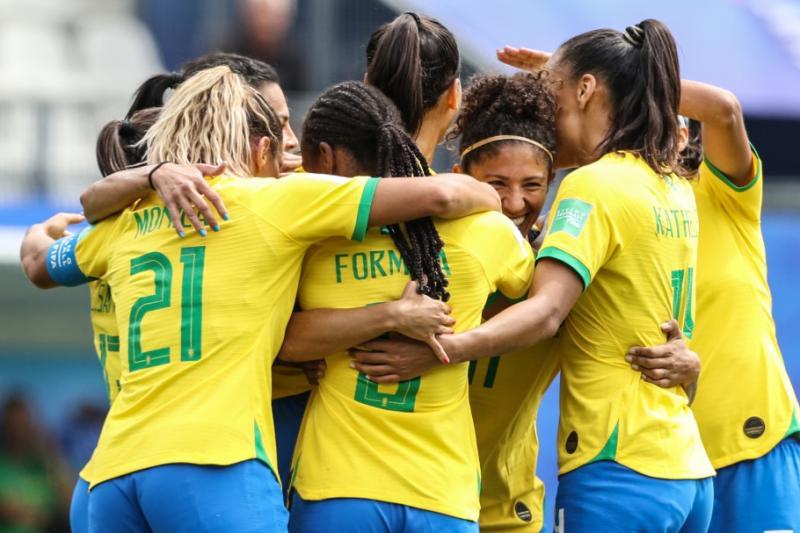 Brasil enfrenta França nas oitavas de final da Copa Feminina