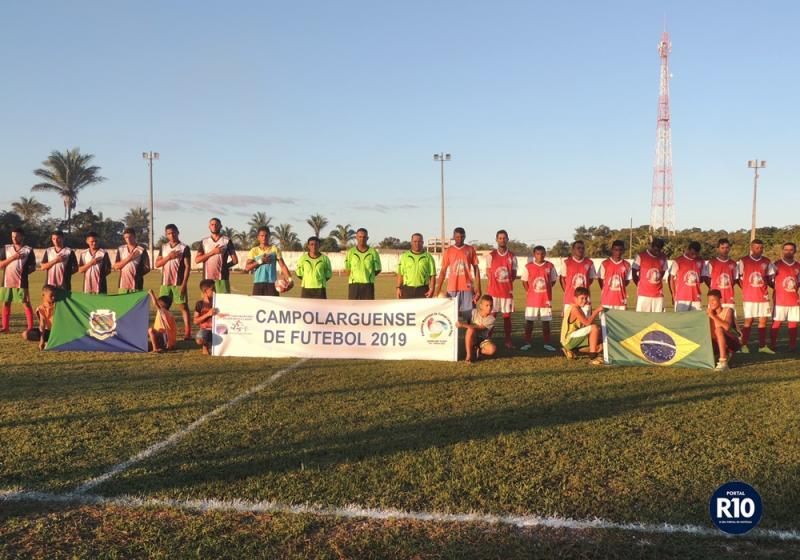 Atlético Vermelhense estréia com vitória no campolargoense 2019