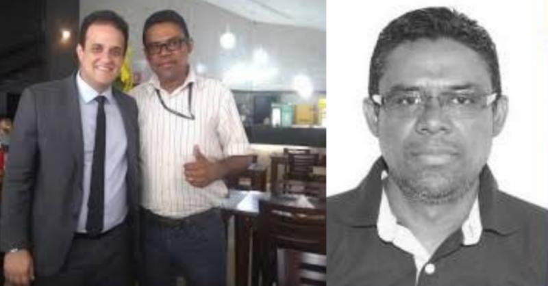 Prefeito Diego Teixeira ao lado do Vereador Honorato/Montagem: Diogo Costa