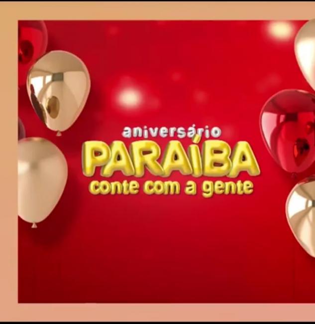 No aniversário Paraíba você compra barato e concorre a vários prêmios