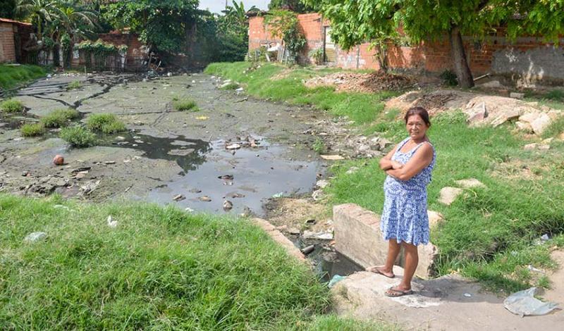 No Piauí, mais de 90% dos domicílios não têm rede de esgotos