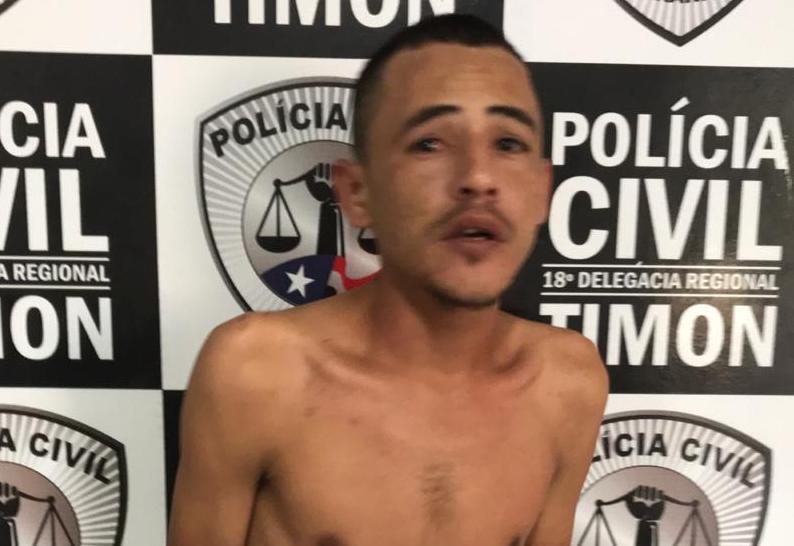 Polícia Civil/Timon cumpre mandado e prende condenado por Assalto
