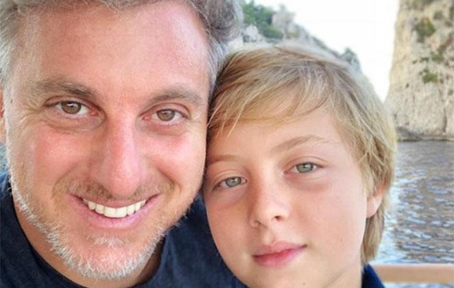 Filho de Luciano Huck deixa UTI após sofrer traumatismo craniano