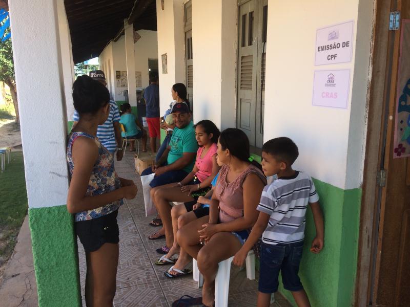 Prefeitura Itinerante foi realizado com sucesso na zona rural de Pau D'arco