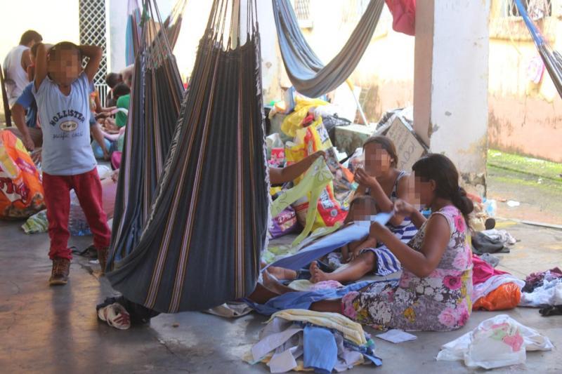 Venezuelanos serão transferidos de abrigo em Teresina